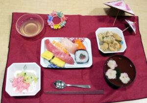 誕生日食「旬」握り寿司